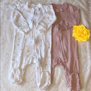 Carter's 2-Pk. Sleep and Play - Baby Girls